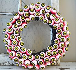 Eyes All Around Wreath