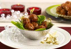 Savory Maple Meatballs