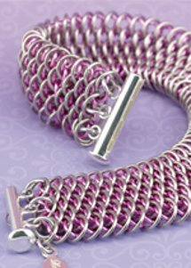 Baby Pink Dragon Scale Bracelet