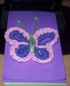 Very Easy Crochet Butterfly