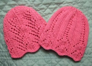 Pink Lemonade Two Lace Hats