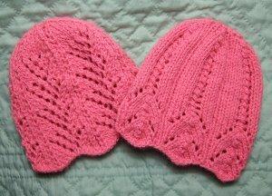 Pink Lemonade Two Lace Hats