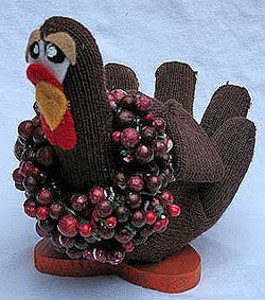 Upcycled Glove Turkey