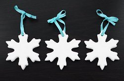 Snowlfake Cookie Cutter Ornaments