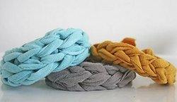 Trendy Jersey Knit Bracelet