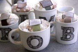 Monogram Mug Set