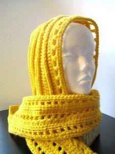 Aesthetic Hooded Scarf