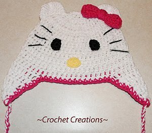 Hello Kitty Earflap Child Hat