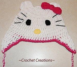 Hello Kitty Earflap Child Hat