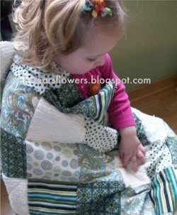 Beautiful Baby Rag Quilt