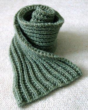 Easy Mistake Stitch Scarf