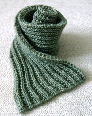 Knitting Scarf Patterns Beginners : Knitting For Beginners Guide: 54 Easy Knitting Patterns AllFreeKnitting.com