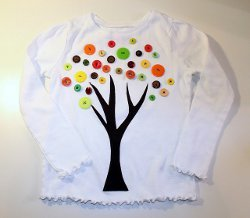 Button Tree Shirt for Fall
