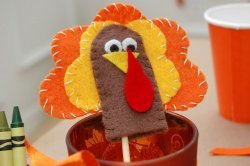 Finger Puppet Turkeys