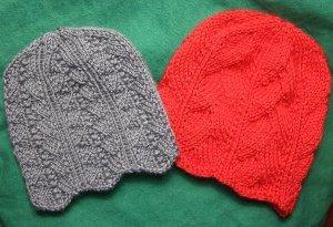 Ripple Edged Hats