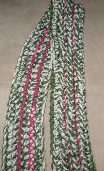 Multicolored 70 Minute Scarf