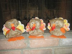 Terrific Turkeys from Paper Bags