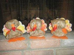 Terrific Turkeys from Paper Bags