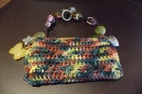 Blackberry or iPhone Crochet Purse