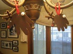 Handy Hanging Reindeer