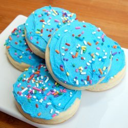 Soft Lofthouse Style Frosted Cookies