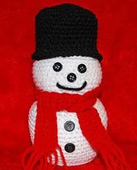 Chilly Crochet Snowman