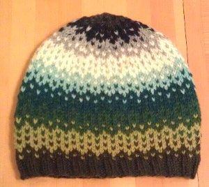 Ombre Raining Color Hat