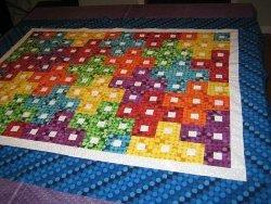 Tetris Baby Quilt Pattern