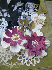 Blooming Scrapbook Flowers How to Make Paper Flowers