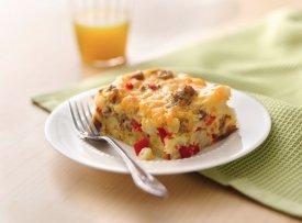 Gluten Free Impossibly Easy Breakfast Bake