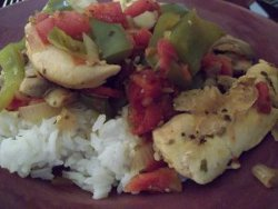 Easy Cheapsy Chicken Cacciatore