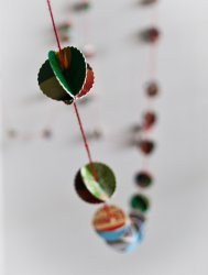 Holiday Card Garland