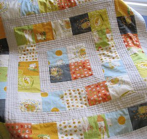 Storytime Squares Baby Quilts