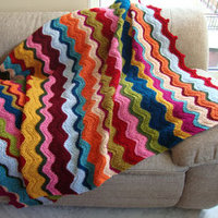 How to Crochet a Ripple Crochet Afghan: 7 Free Crochet Patterns