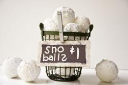 Faux Snowballs for Sale