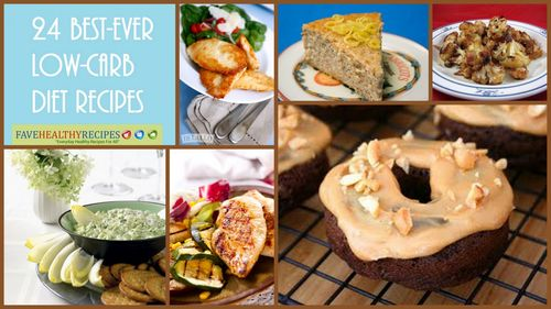 Best Ever Low Carb Diet Recipes