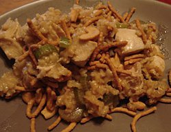 Chinese Cashew Chicken Rice Casserole