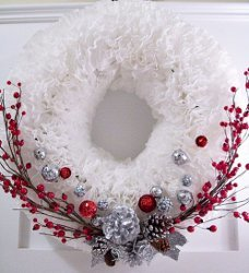 Stunning Coffee Filter Wreath