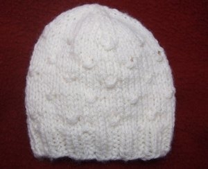 Wrapped Stitches Baby Hat