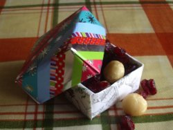 Recycled Card Mini Gift Boxes