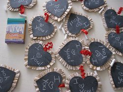 Chalkboard Valentines