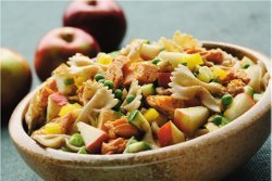 Warm Salmon Pasta Salad