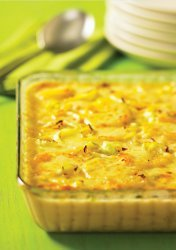 Creamy Potato and Leek Casserole