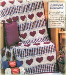 American Heartland Crochet Afghan