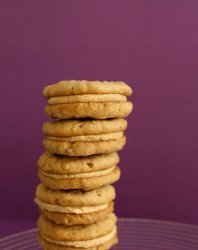 Girl Scout Oatmeal Peanut Butter Cookies