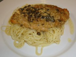 Slow Cooker Chicken Picatta