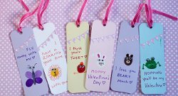 Thumbprint Animal Bookmarks