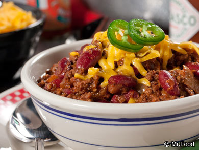The Ultimate Chili Game Day Menu | MrFood.com