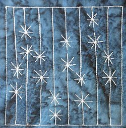 Icicle Lights Quilting Pattern