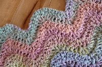 9 Pastel Colored Patterns for Crochet Baby Blankets eBook